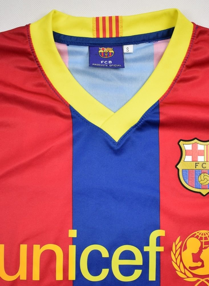 2010-11 FC BARCELONA  MESSI  SHIRT S Football   Soccer   European ... f2550b82e