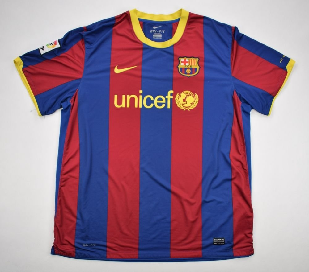 c66aedf32 2010-11 FC BARCELONA SHIRT XXL Football   Soccer   European Clubs   Spanish  Clubs   FC Barcelona