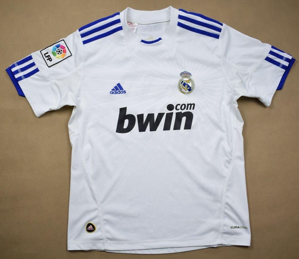 2010-11 REAL MADRID  RONALDO  M. BOYS 152 CM Football   Soccer ... 89594a872