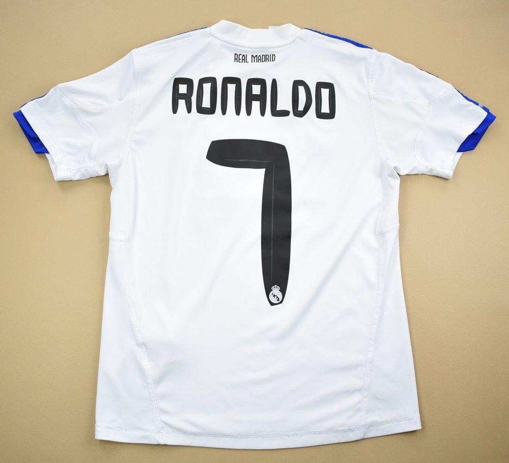 the best attitude 19cf6 58197 2010-11 REAL MADRID *RONALDO* SHIRT M. BOYS