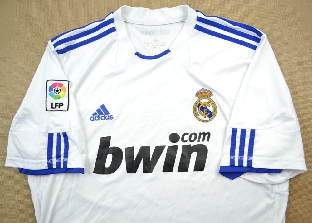 online store 2a421 6eba9 2010-11 REAL MADRID SHIRT XL
