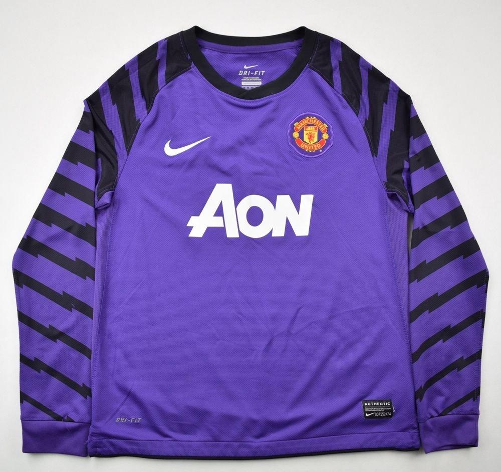 4da105bd4fb 2010-2011 MANCHESTER UNITED GK SHIRT M. BOYS Football   Soccer ...