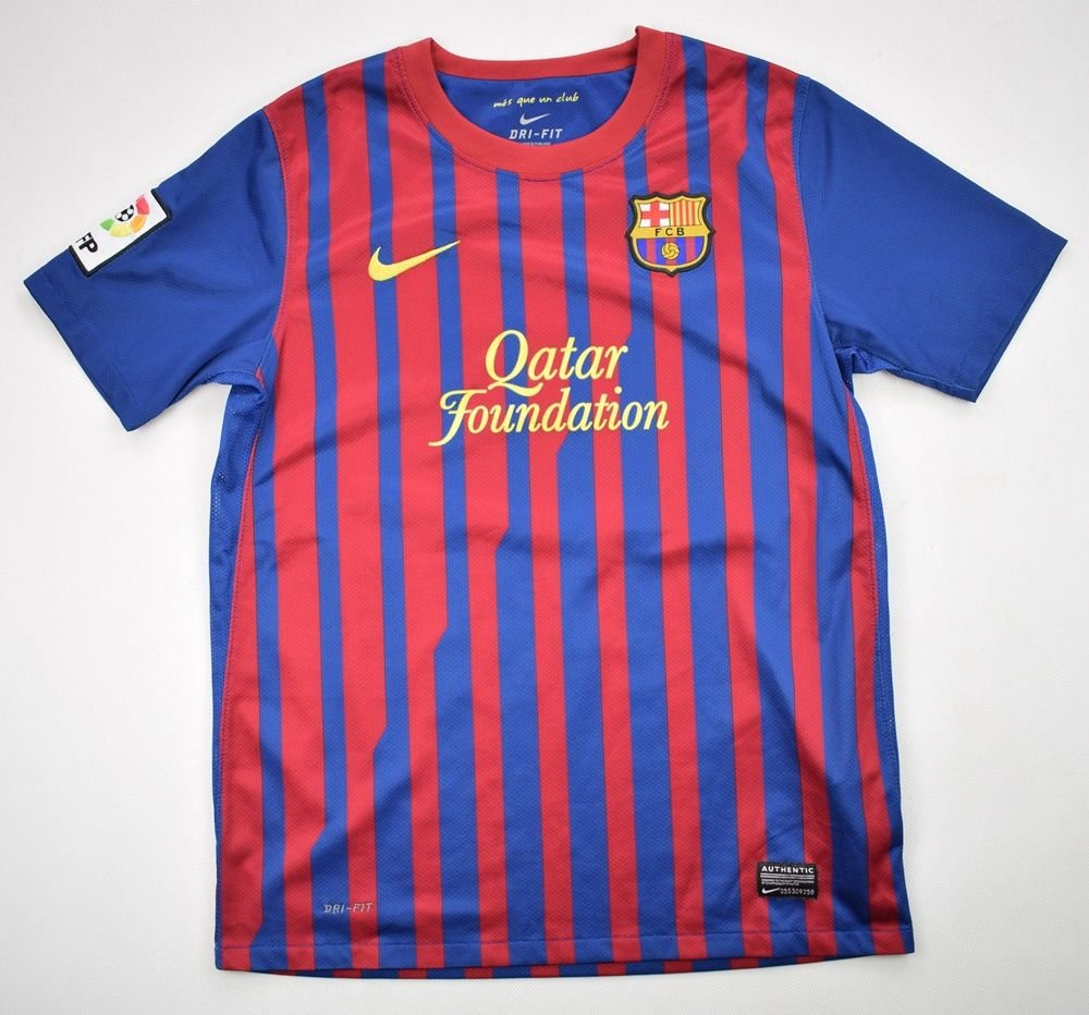 45ee43f20d4 2011-12 FC BARCELONA SHIRT L. BOYS Football   Soccer   European Clubs    Spanish Clubs   FC Barcelona