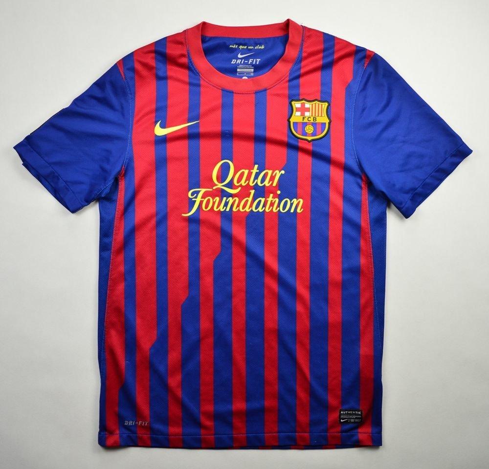9e487ebbc11 2011-12 fc barcelona shirt s football   soccer european clubs