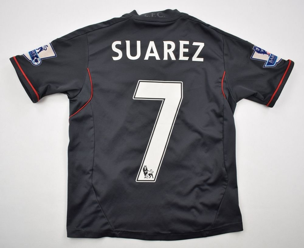 bd724d42abb 2011-12 LIVERPOOL  SUAREZ  SHIRT 7-8 YRS Football   Soccer   Premier League    Liverpool