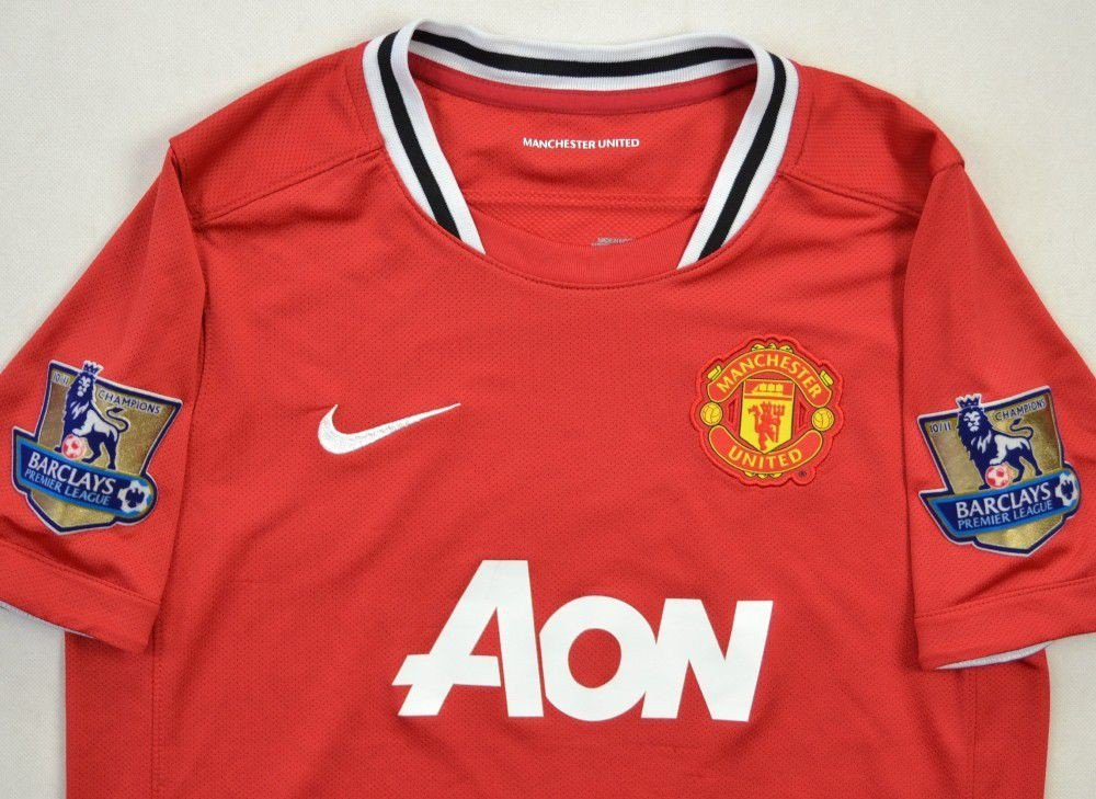 huge discount 65472 1631a 2011-12 MANCHESTER UNITED SHIRT L BOYS