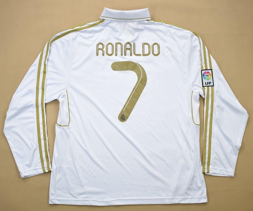 new products 58b3b 045e8 2011-12 REAL MADRID *RONALDO* LONGSLEEVE SHIRT XL