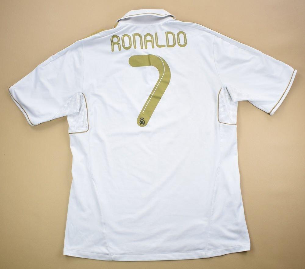 hot sales 9b53b 45c29 2011-12 REAL MADRID *RONALDO* SHIRT XL