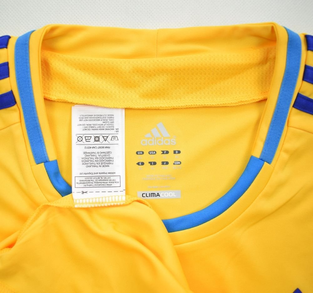2011-13 UKRAINE SHIRT XL Football   Soccer   International Teams ... f71dba6d9