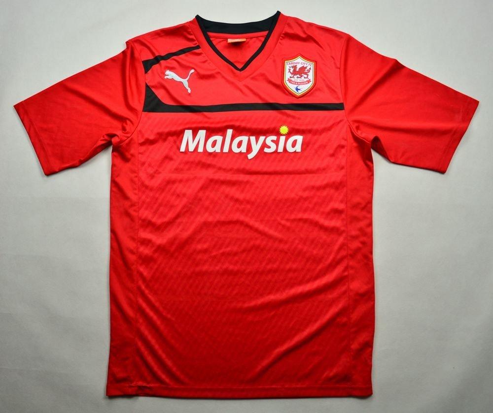 5fb1c390f 2012-13 CARDIFF CITY FC  ERIC  SHIRT M Football   Soccer   Premier ...