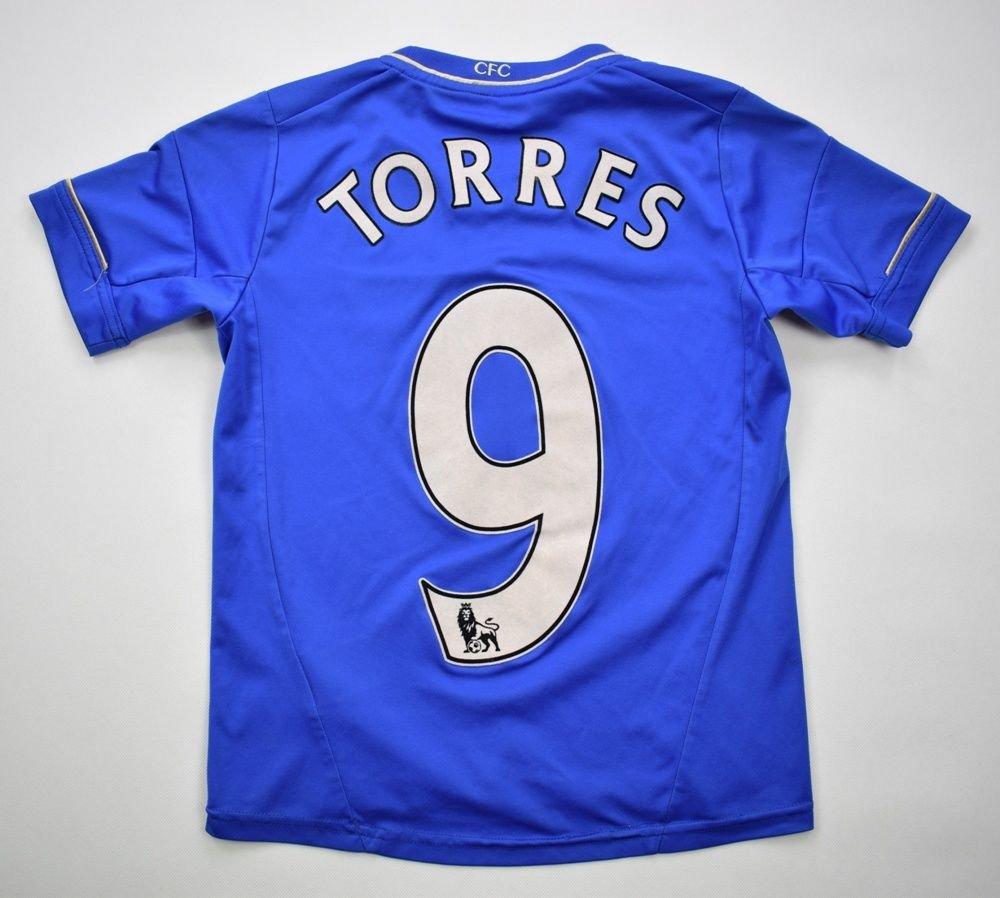 2012-13 CHELSEA LONDON  TORRES  SHIRT S. BOYS 140 CM Football   Soccer    Premier League   Chelsea London  c734b5513