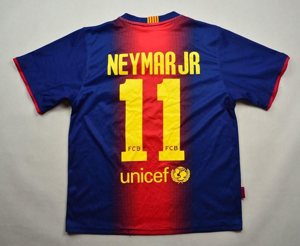 pretty nice b8cda 93383 2012-13 FC BARCELONA *NEYMAR JR* SHIRT S
