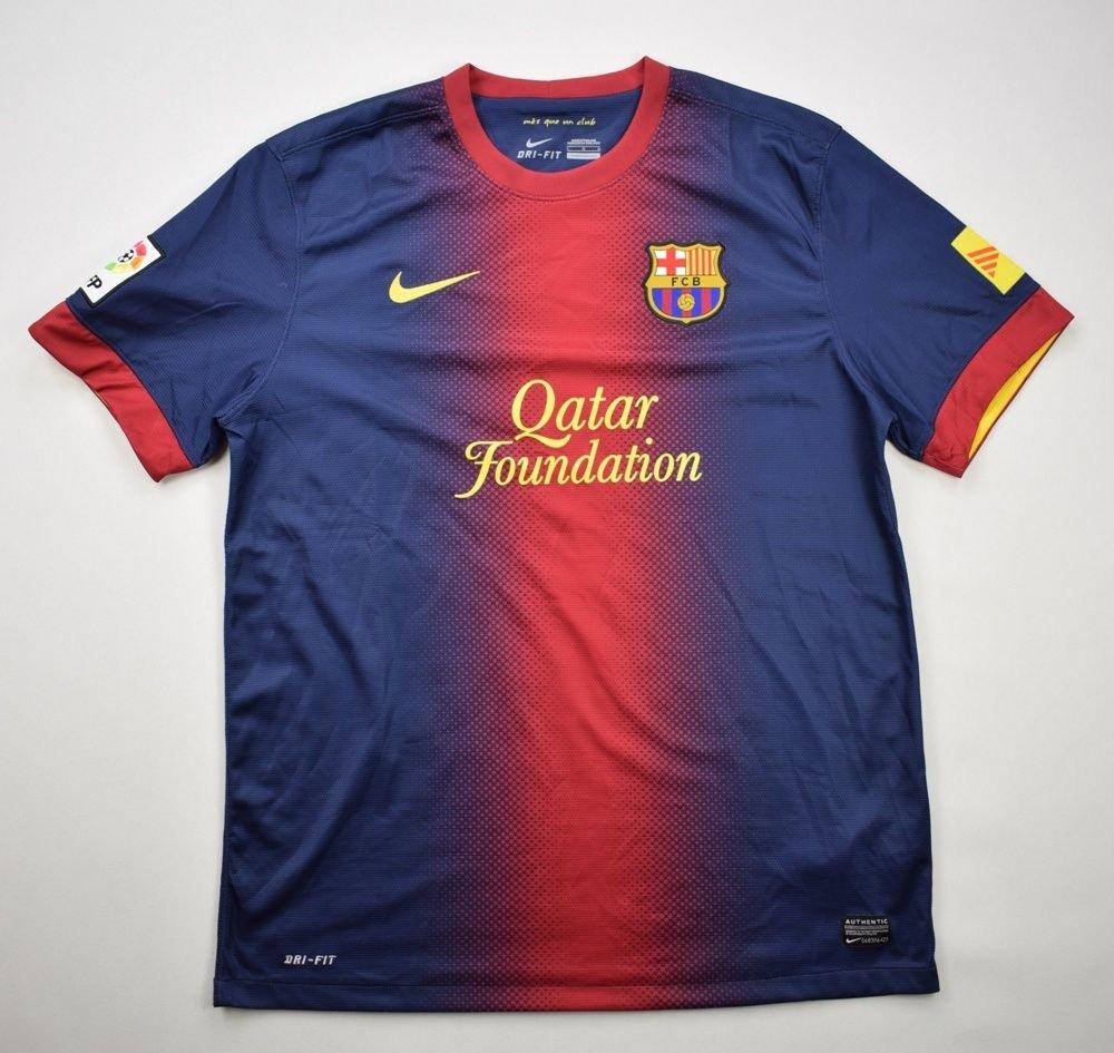 2eb72772419 2012-13 FC BARCELONA SHIRT L Football   Soccer   European Clubs   Spanish  Clubs   FC Barcelona