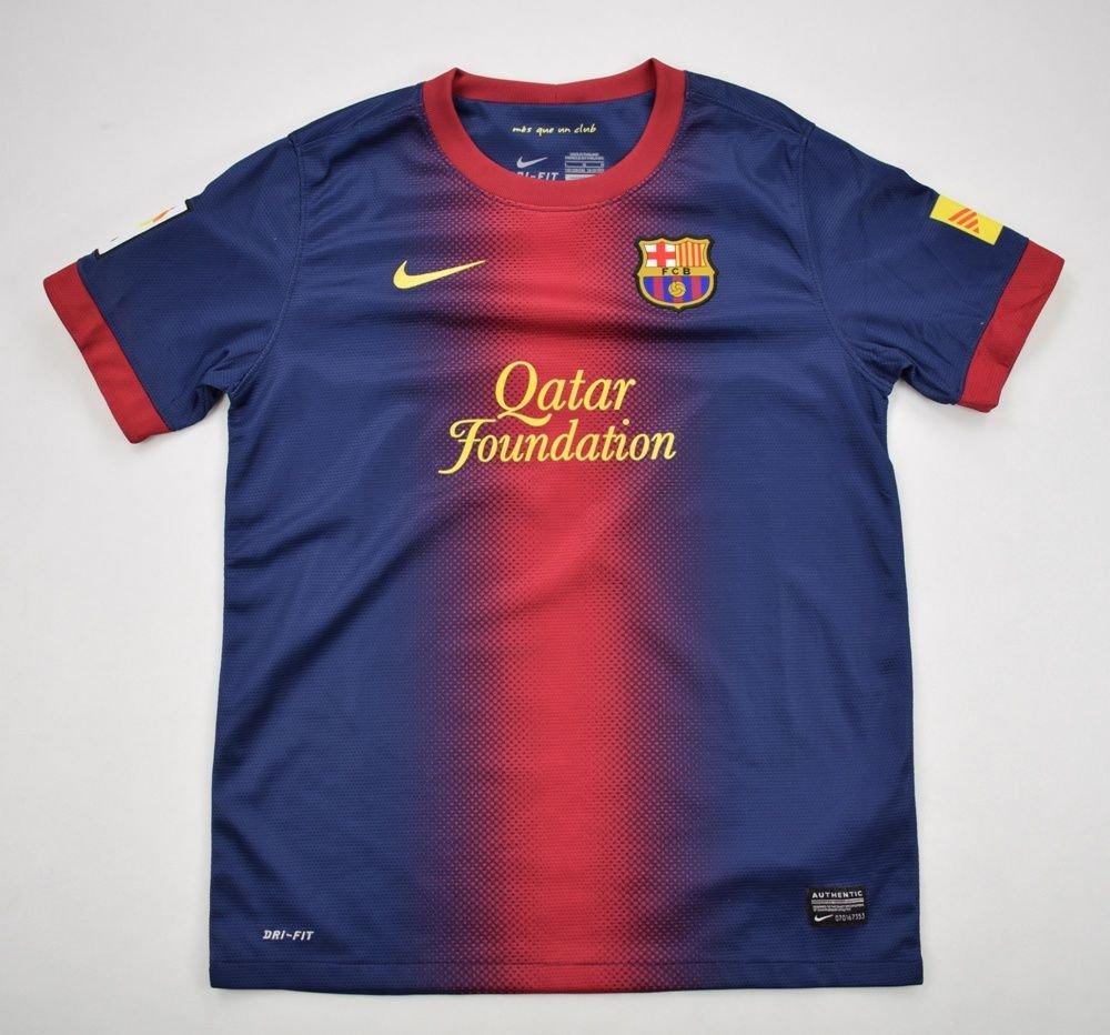a6335a0b0d8 2012-13 FC BARCELONA SHIRT L. BOYS 147-158 CM Football   Soccer   European  Clubs   Spanish Clubs   FC Barcelona