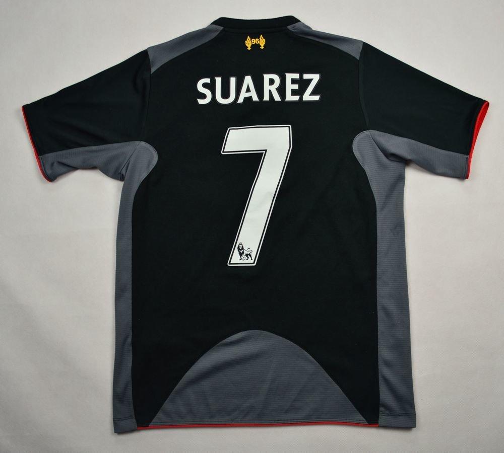 590bf843d39 2012-13 LIVERPOOL  SUAREZ  SHIRT XL. BOYS 158 CM Football   Soccer   Premier  League   Liverpool
