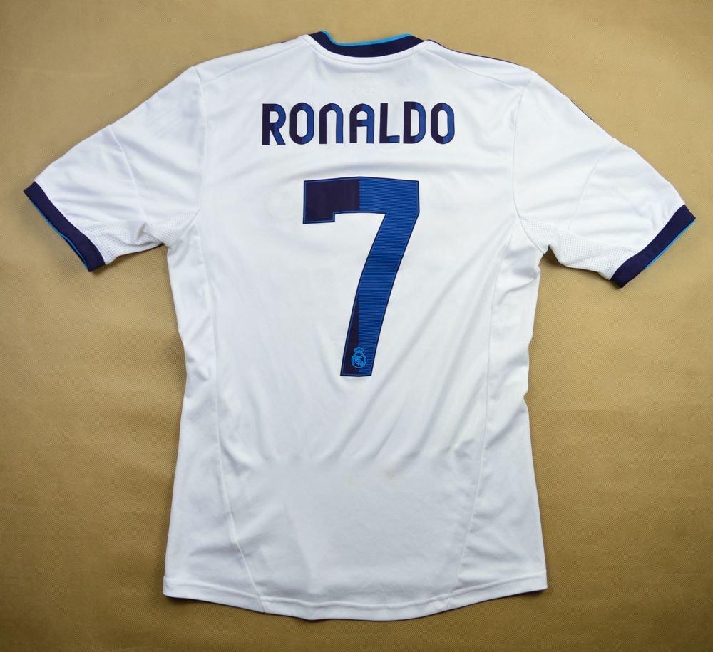 new products c6bdf 95612 2012-13 REAL MADRID *RONALDO* SHIRT S