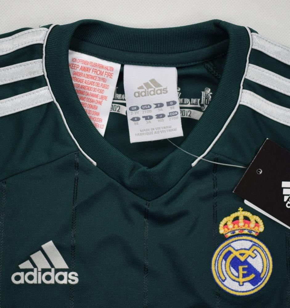2012-13 REAL MADRID SET SHIRT