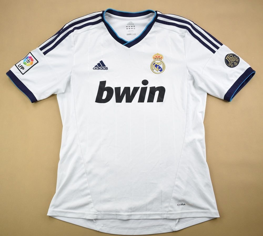 3e0b0e14c 2012-13 REAL MADRID SHIRT M Football / Soccer \ European Clubs \ Spanish  Clubs \ Real Madrid   Classic-Shirts.com