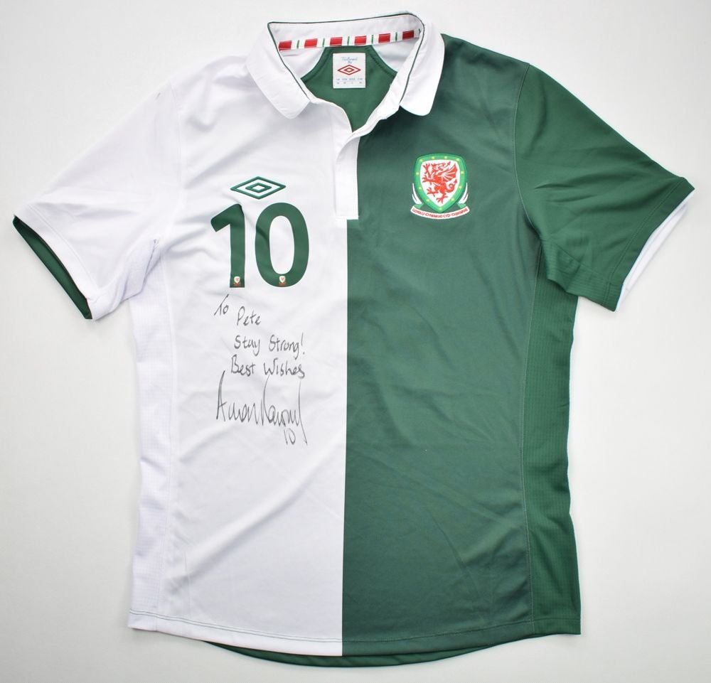 new concept 22503 39028 2012-13 WALES *RAMSEY* SHIRT M