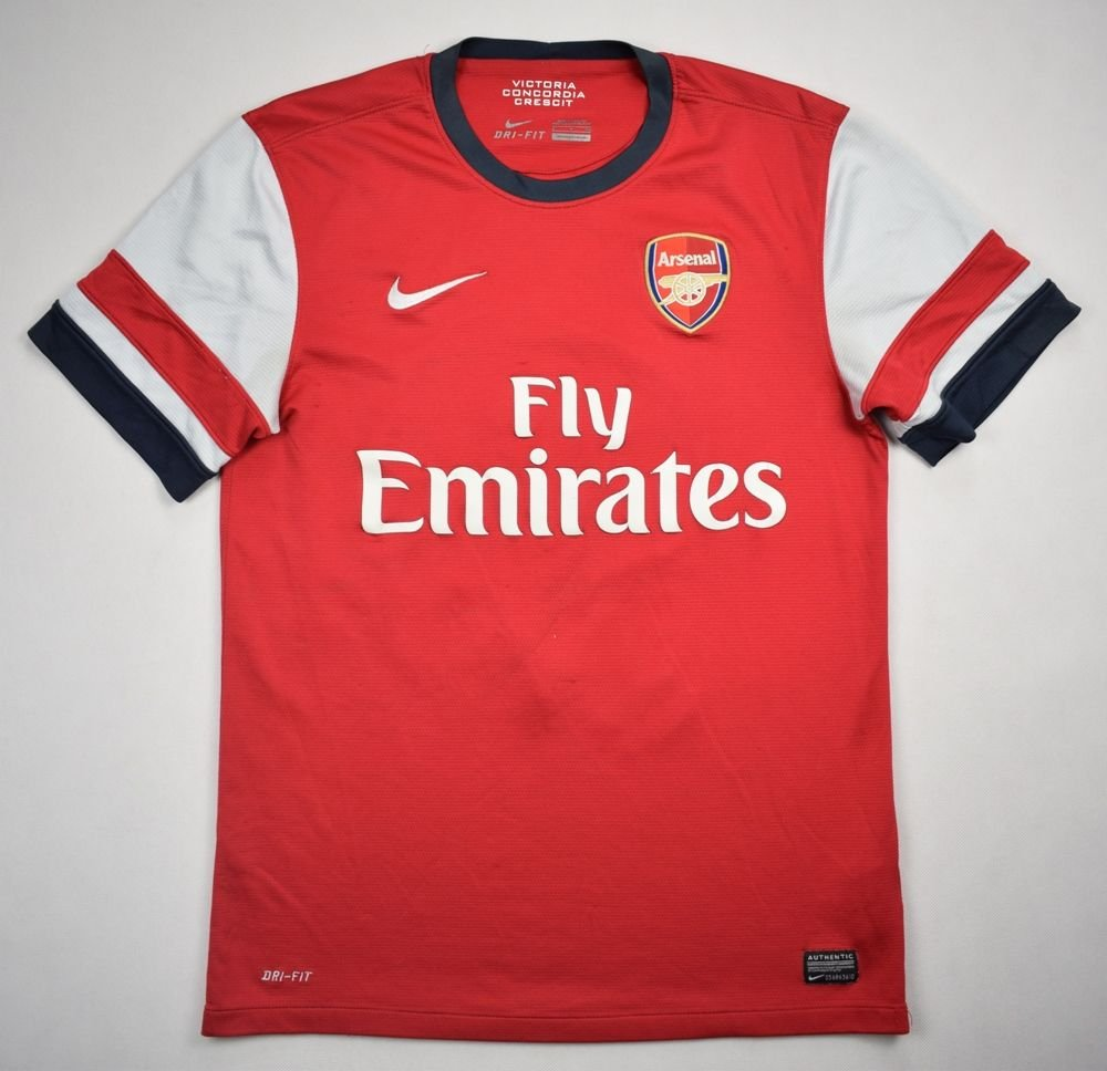 meet fd7c0 54406 2012-14 ARSENAL LONDON *PODOLSKI* SHIRT S