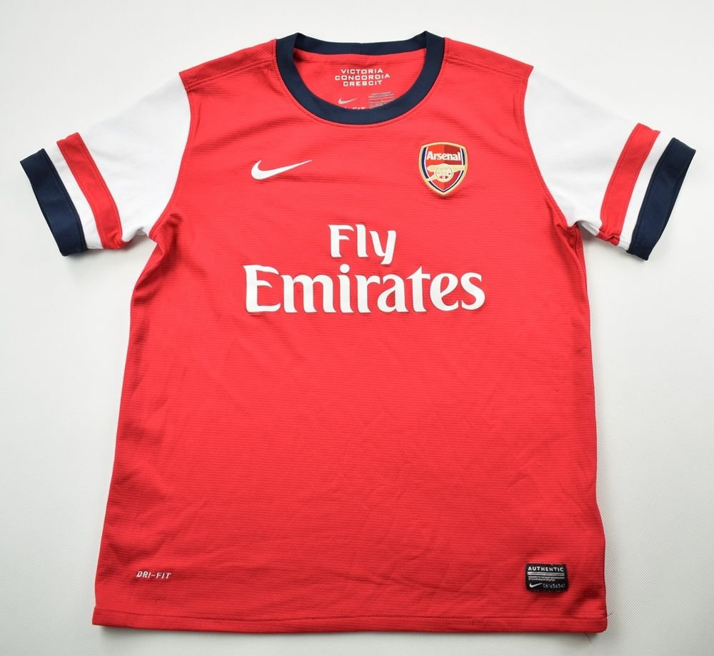 fc9ffd296e4 2012-14 ARSENAL LONDON SHIRT L. BOYS Football   Soccer   Premier League    Arsenal London