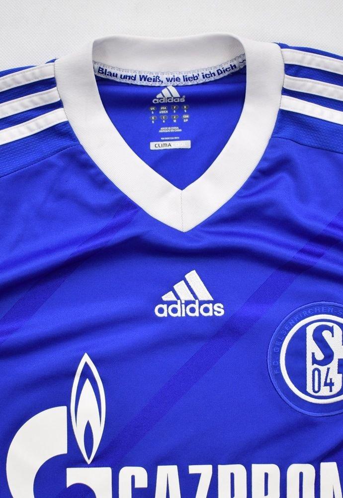 ADIDAS FC SCHALKE 04 GELSENKIRCHEN trikot vintage long shirt