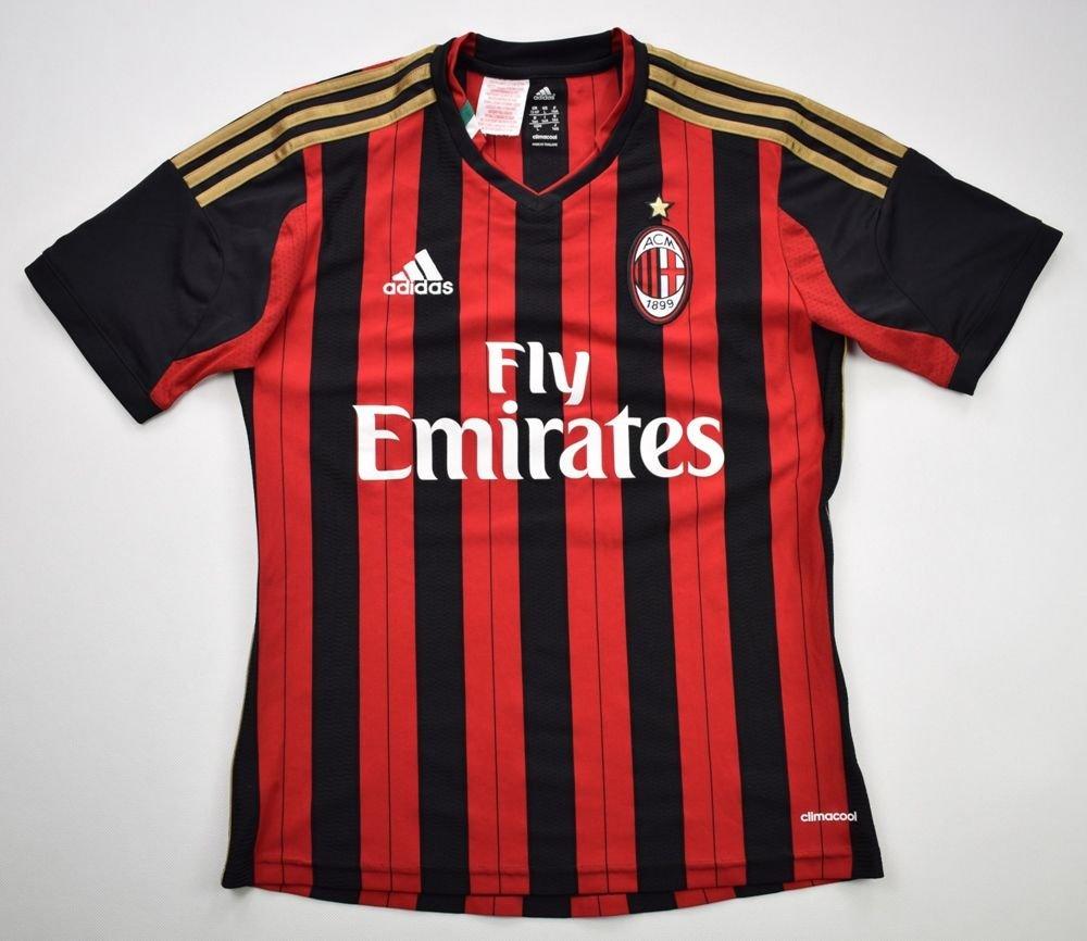 5cad4efa2ab 2013-14 AC MILAN SHIRT L. BOYS Football   Soccer   European Clubs   Italian  Clubs   AC Milan