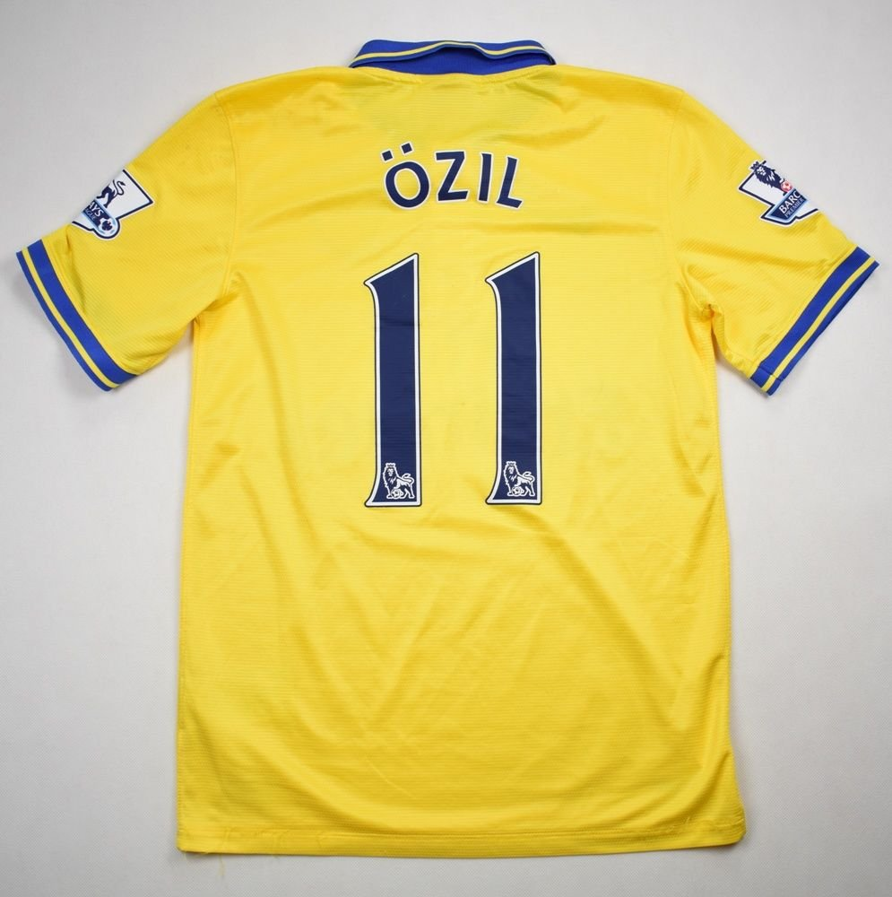 official photos 5ace5 cda02 2013-14 ARSENAL LONDON *OZIL* SHIRT S