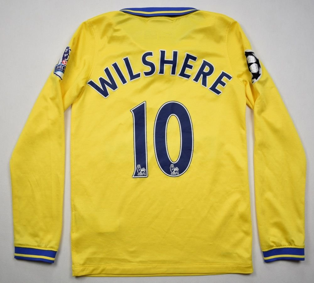 more photos 171dd 27601 2013-14 ARSENAL *WILSHERE* CL LONGSLEEVE S. BOYS