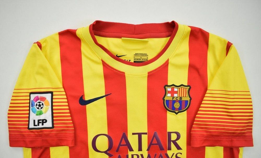 52e396722e5 2013-14 FC BARCELONA  FABREGAS  SHIRT L. BOYS Football   Soccer ...
