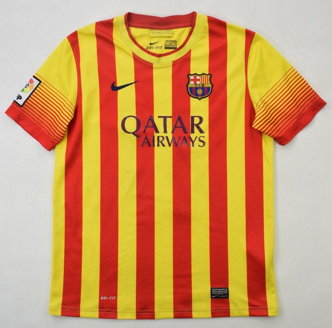 2013-14 FC BARCELONA *NEYMAR JR* SHIRT XL. BOYS Football ...