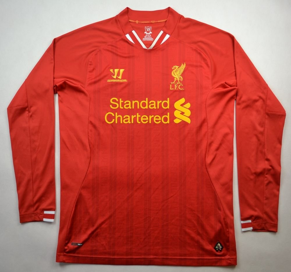 8179454b7 2013-14 LIVERPOOL SHIRT M Football   Soccer   Premier League   Liverpool