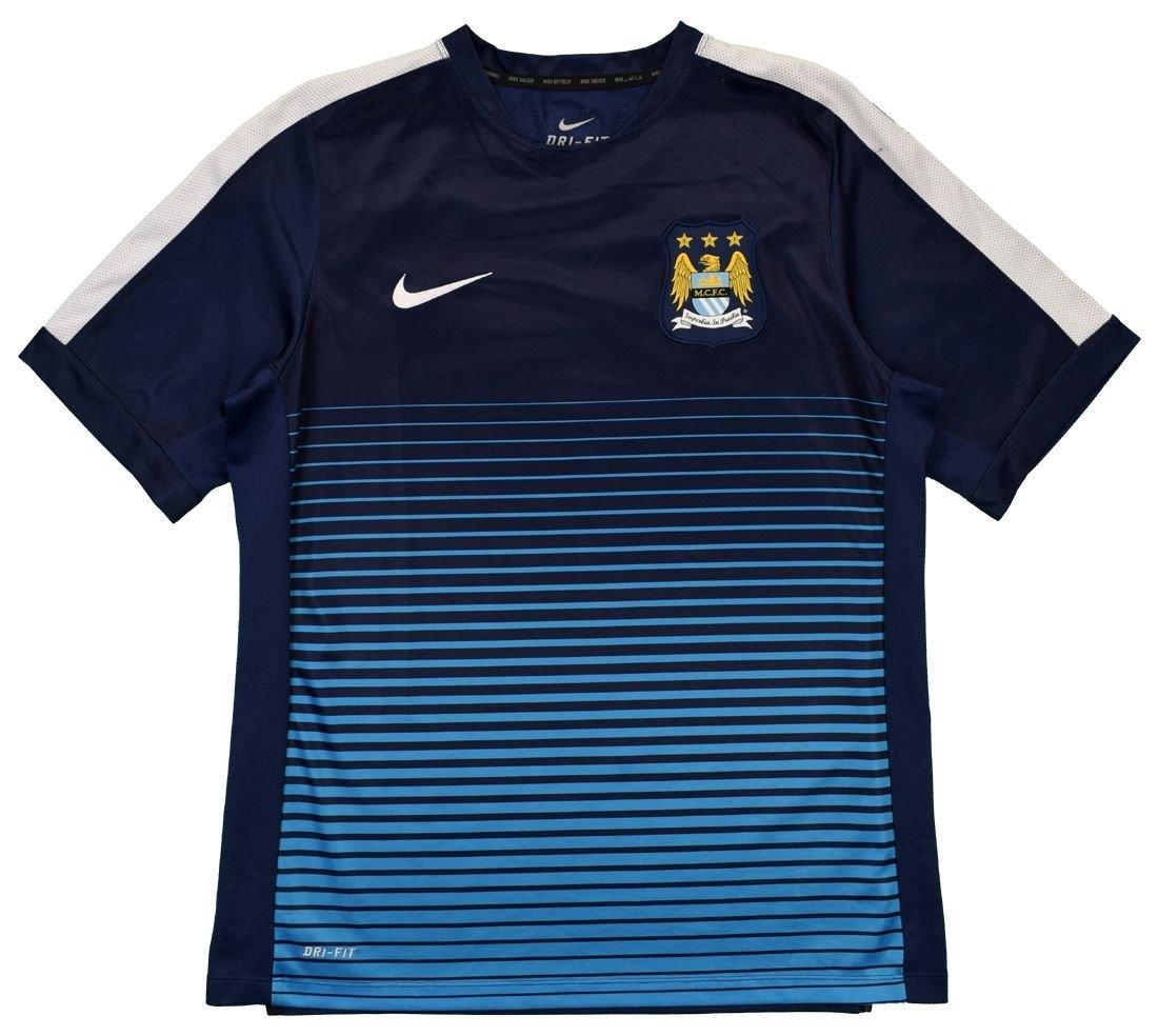 2013-14 MANCHESTER CITY SHIRT L Football / Soccer ...