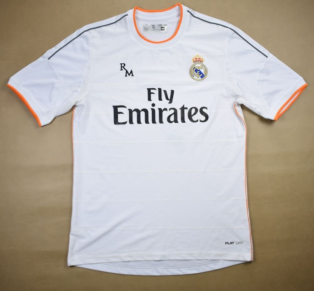 low priced a59ad 37d93 2013-14 REAL MADRID *RONALDO* SHIRT M