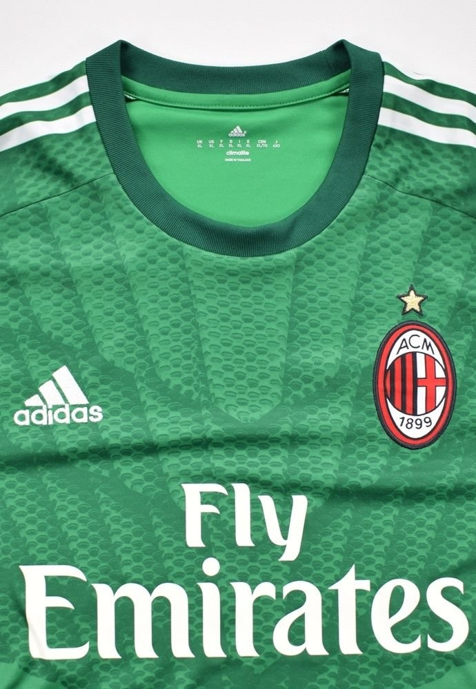 2014-15 AC MILAN GK LONGSLEEVE SHIRT XL Football / Soccer ...