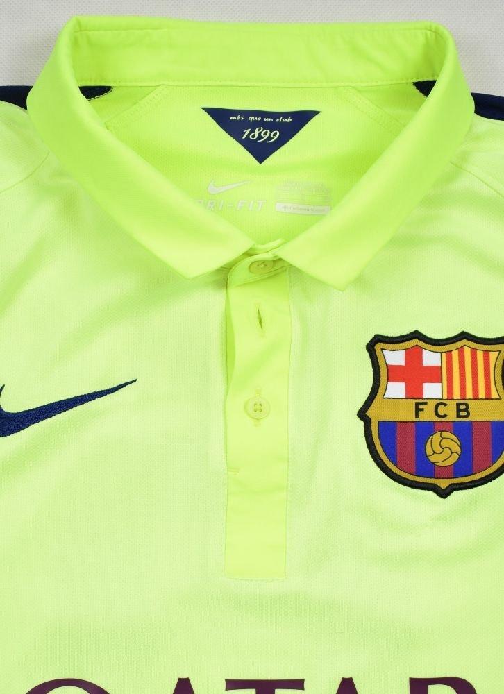 29ba16a982a 2014-15 FC BARCELONA  NEYMAR JR  SHIRT S Football   Soccer ...