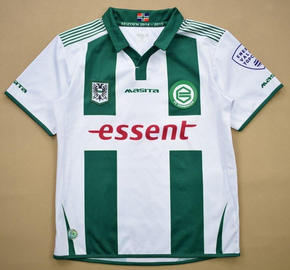 2014 15 Fc Groningen Shirt S Boys Football Soccer European Clubs Dutch Clubs Other Dutch Clubs Classic Shirts Com