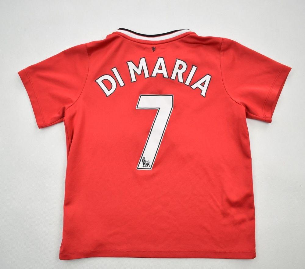 5c11b66ad 2014-15 MANCHESTER UNITED  DI MARIA  SHIRT XL.BOYS Football   Soccer    Premier League   Manchester United