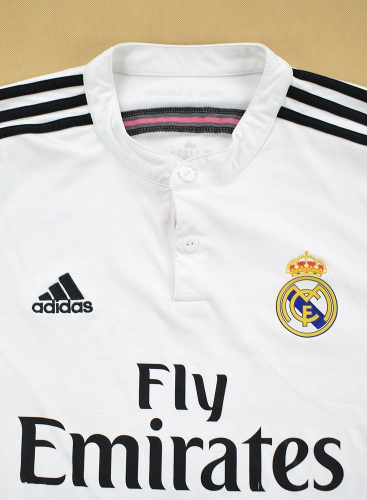 quality design 3b43b cdb21 2014-15 REAL MADRID *RONALDO* SHIRT L