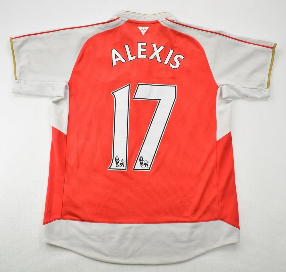 alexis arsenal shirt