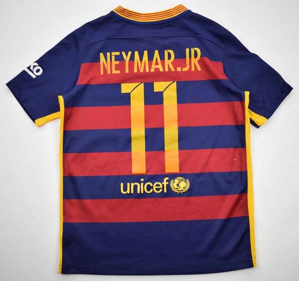 hot sale online 26fec 57e15 2015-16 FC BARCELONA * NEYMAR.JR* SHIRT L. BOYS