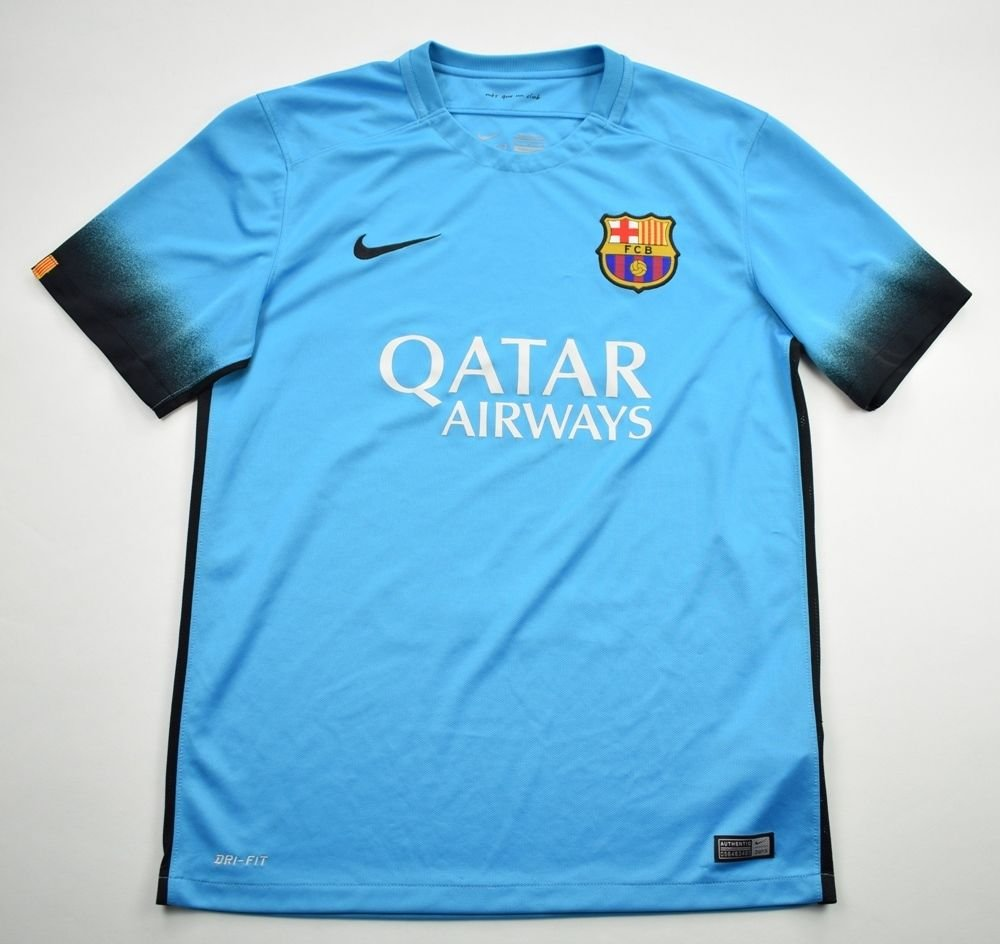 2015 16 Fc Barcelona Shirt M Football Soccer European Clubs Spanish Clubs Fc Barcelona Classic Shirts Com