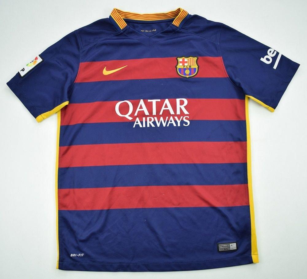 59408be7cf0 2015-16 FC BARCELONA SHIRT XL. BOYS Football   Soccer   European Clubs   Spanish  Clubs   FC Barcelona