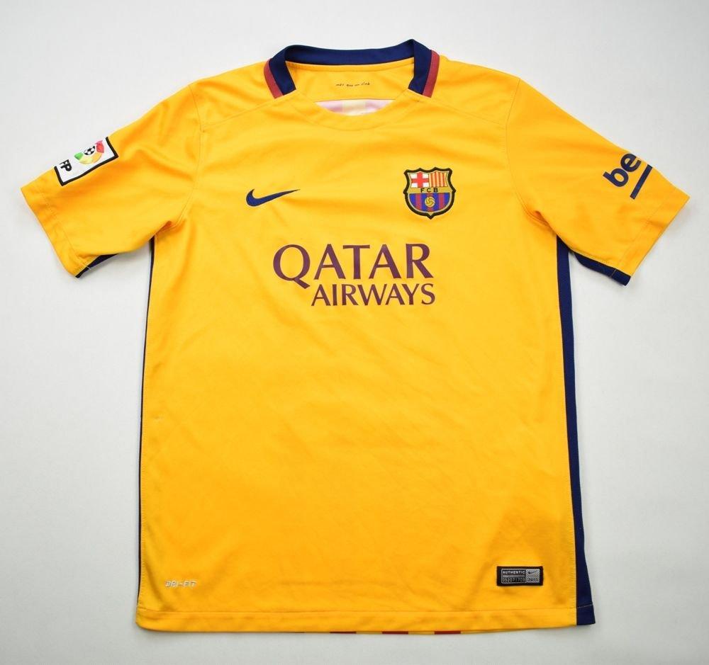 6a2abf9ea94 2015-16 FC BARCELONA SHIRT XL. BOYS 158-170 CM Football   Soccer   European  Clubs   Spanish Clubs   FC Barcelona