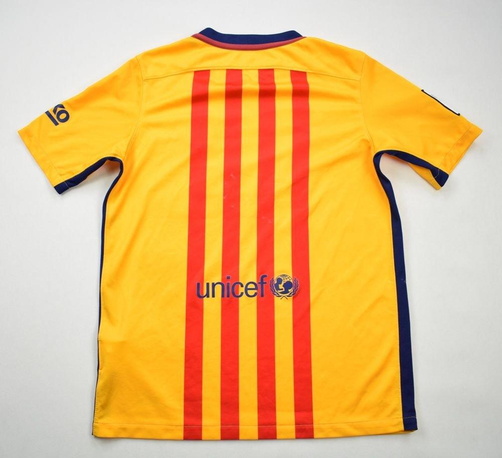 b6652c7c41b 2015-16 FC BARCELONA SHIRT XL. BOYS 158-170 CM Football   Soccer ...