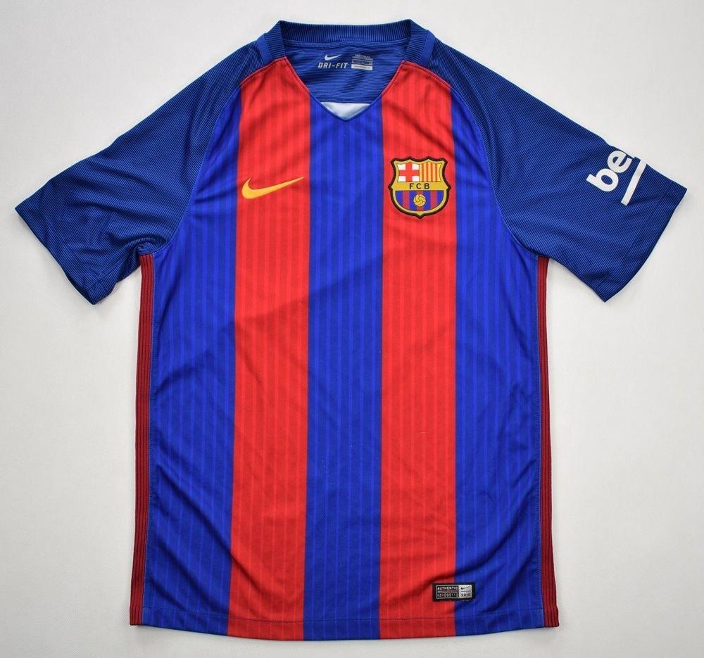 2016 17 fc barcelona shirt s football soccer european clubs spanish clubs fc barcelona classic shirts com 2016 17 fc barcelona shirt s