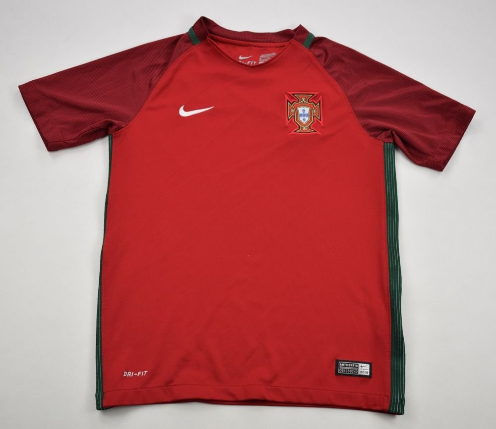 c427d0463 2016-17 PORTUGAL SHIRT M. BOYS 137-147 CM Football   Soccer   International  Teams   Europe   Portugal