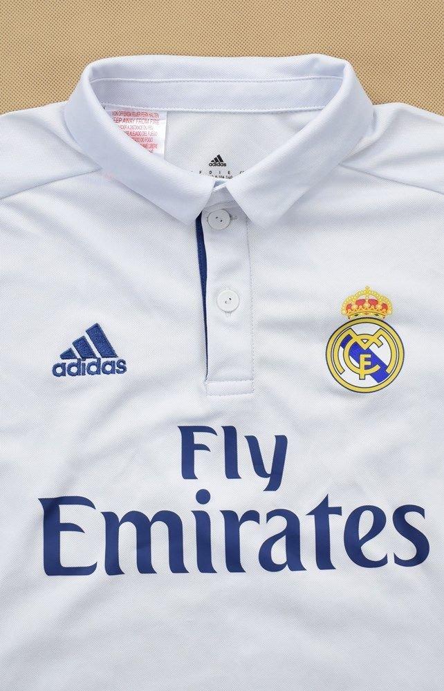 2016 17 REAL MADRID *RONALDO* LONGSLEEVE SHIRT S. BOYS