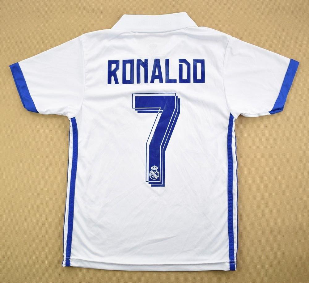 watch 748d3 9b733 2016-17 REAL MADRID *RONALDO* SHIRT S. BOYS