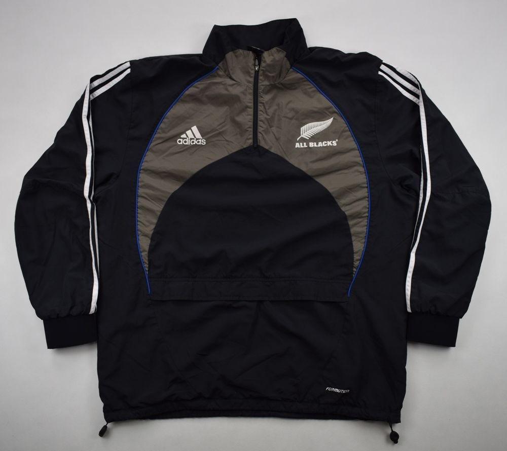 super quality 100% top quality lowest price ALL BLACKS NEW ZEALAND RUGBY ADIDAS JACKET 44/46
